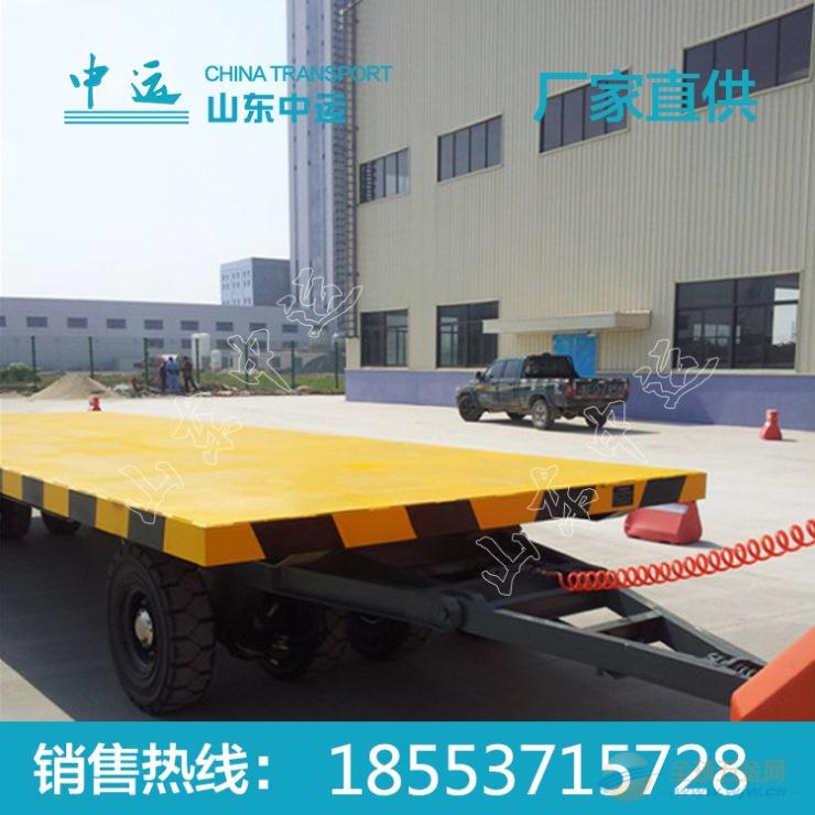电刹牵引平板拖车价格 厂家直销电刹牵引平板拖车