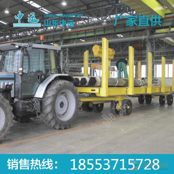 插桩式牵引平板拖车价格 插桩式牵引平板拖车规格