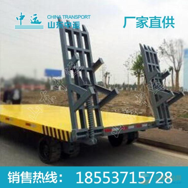 工业用尾板牵引平板拖车价格 牵引平板拖车厂家直销