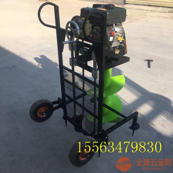 闵行区 道路工程挖坑机 优质便携式挖坑机机械