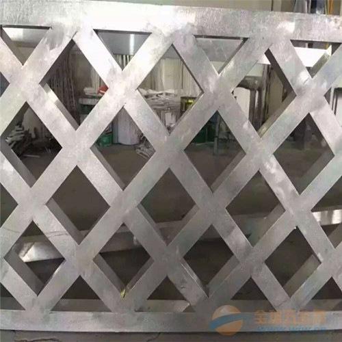 木纹铝花格
