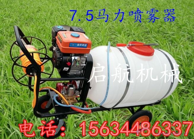 绿化园林喷雾器牡丹江手推式高压打药机厂家