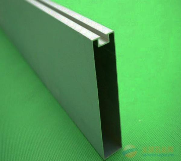 型材仿木纹铝方通吊顶供应商材料