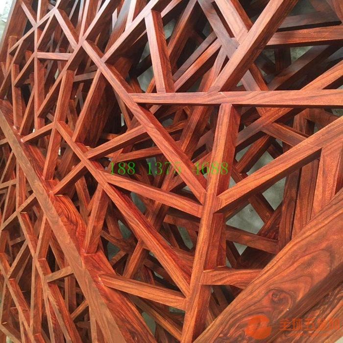 定制仿古铝合金花格窗,焊接铝花格窗花,中式铝挂落