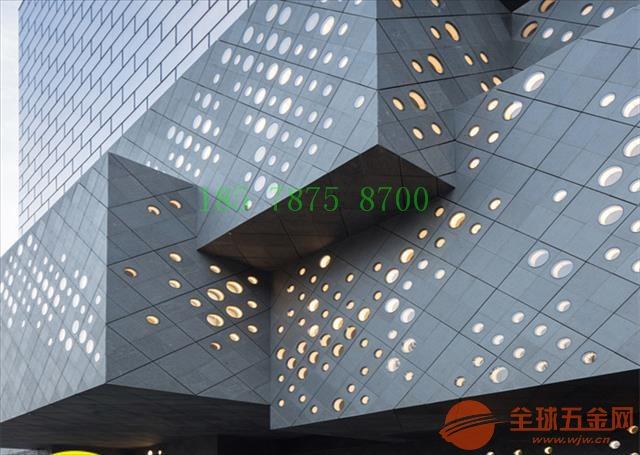 专业定制透光冲孔铝单板-艺术穿孔铝板-图案冲孔铝单板