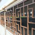 全南县沿街改造防木纹铝花格\防盗铝窗花\铝门花生产厂家