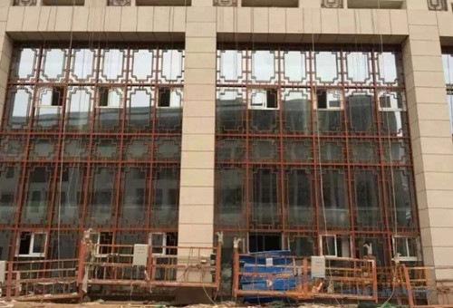 古建铝窗格莆田仿古街道定做经久耐用