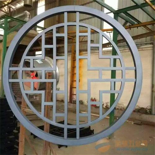 铝合金窗花_型材方管铝窗花_来图定做铝窗花厂家