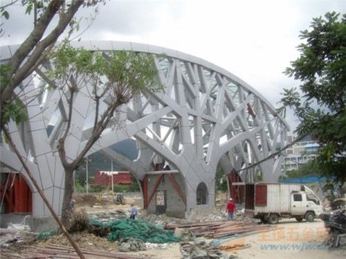 供应外墙装饰造型铝单板_雕刻立体异形铝单板