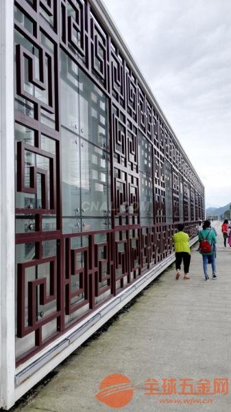 浙江定做四方管型材铝窗花厂家 外墙仿变色铝窗花