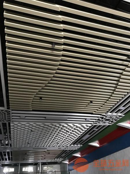 弧形铝方通晋城德普龙来图定制现货速发