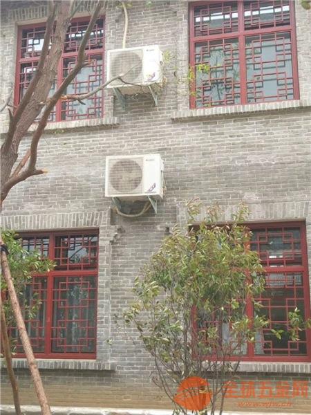 仿古酒家门窗装饰铝窗花,仿木纹铝花格、古典优雅