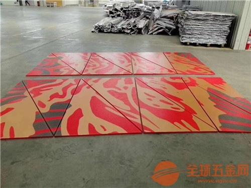 外墙红色氟碳铝单板 电梯包边白色铝单板厂家
