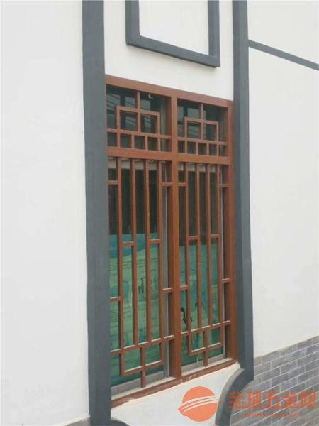 云南仿古艺术造型铝窗花,铝合金花格幕墙定制