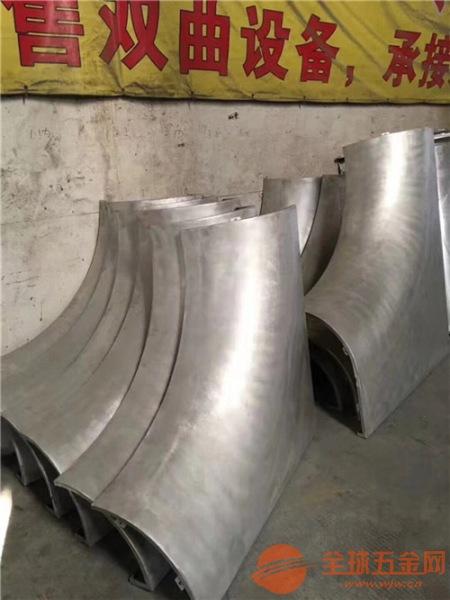 氟碳双曲造型铝单板_包柱透光铝单板厂家 时尚个性
