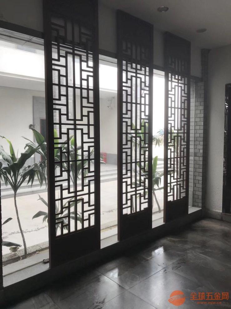 售楼部室内装饰木纹铝隔断,护栏铝花格,时尚定做