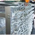 外墙六角形冲孔长城板_奥迪4s店外墙板_长城铝单板
