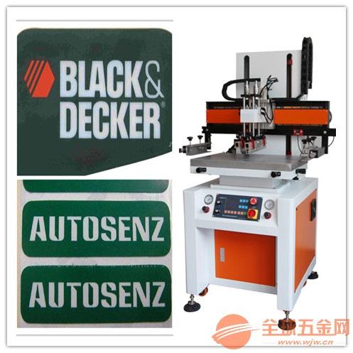 PVC胶片丝网印刷机