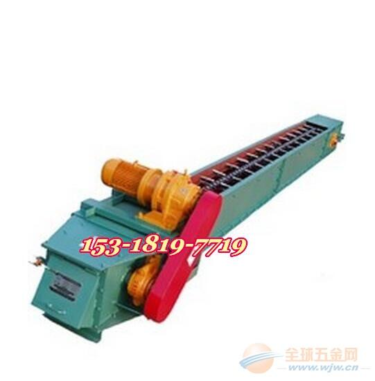 埋刮板式传送带 爬坡刮板输送机y6