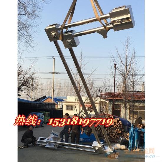优质管链输送机报价厂家 倾斜管链输送机