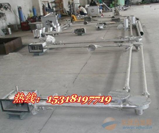 管链输送机新型上料设备新品 钙粉提升机