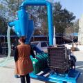 丹东移动式气力输送机 厂家直销移动式吸粮机参数