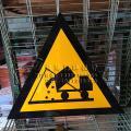 三角形环保标志一般固体废物危险废物标志医疗废物标志
