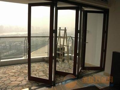 青岛折叠门安装,阳光房配套折叠门,折叠门厂家