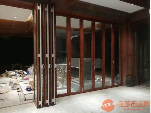 琼海折叠门安装,阳光房配套折叠门,折叠门厂家