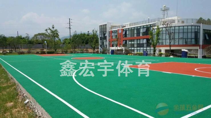 攀枝花硅PU塑胶篮球场,悬浮拼装地板,体育器材,厂家价格