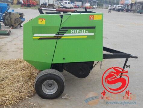 厂家直销的圆捆捡拾打包机稻草秸秆打捆机多少钱