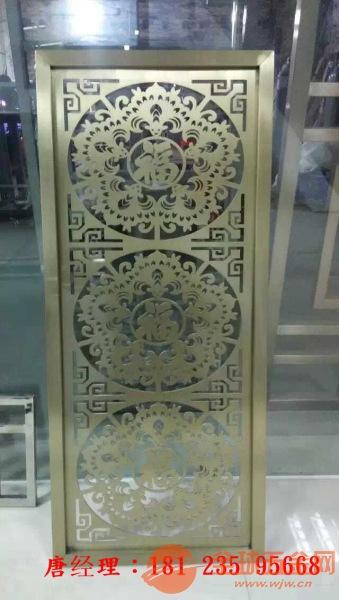 仿古铜立式不锈钢花格、仿古铜不锈钢、立式不锈钢屏风价格