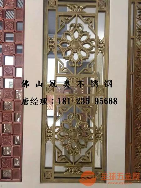 8mm纯铜屏风价格、铸铜中国风花格厂家
