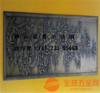 园林雕塑制作厂家、铜板精雕壁画批发多少钱