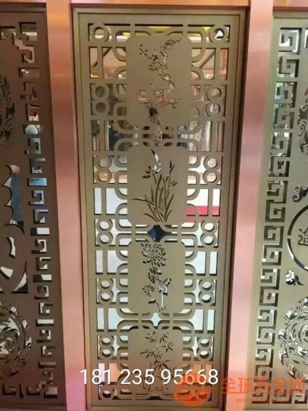 定制铝合金组合屏风怎么卖、铸铝仿铜组合隔断厂家