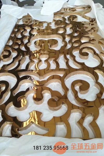 10mm铝合金仿铜屏风品牌、15mm铸铝仿铜隔断厂家