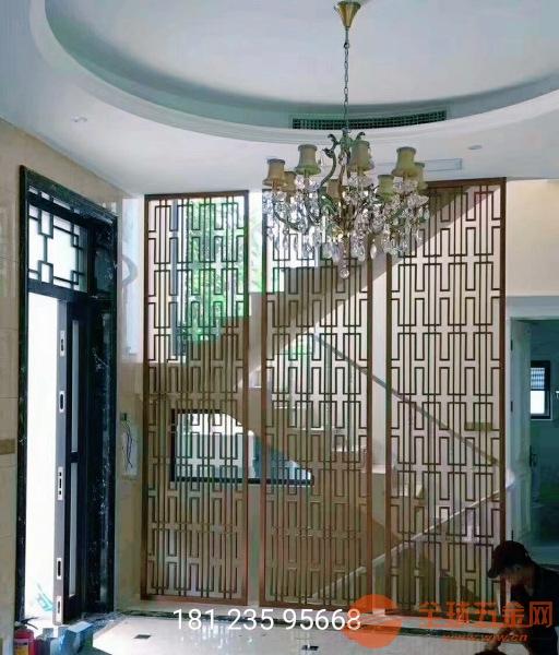 中山不锈钢金属雕刻铜雕屏风多少钱