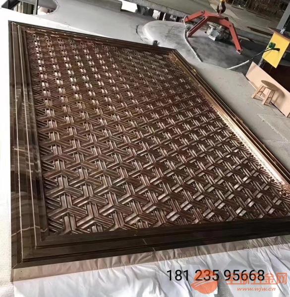 10mm铝合金雕刻屏风供应商、15mm铸铝仿铜隔断