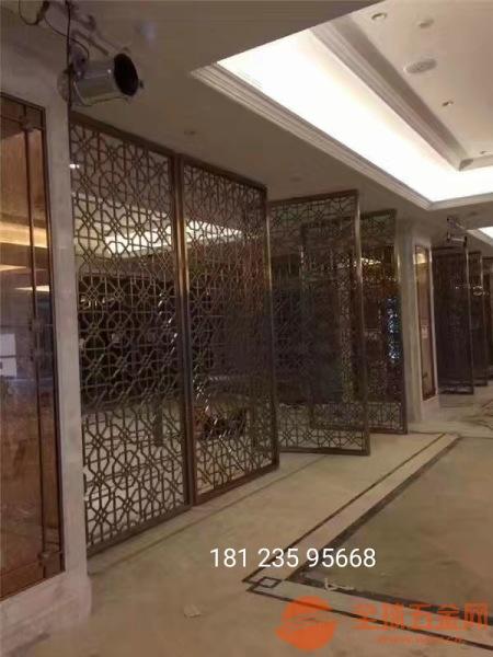 中山不锈钢金属雕刻铝雕屏风厂家品质保证放心购