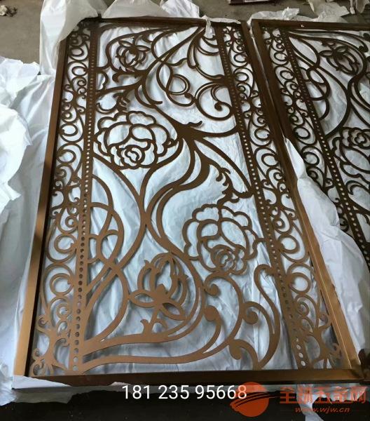 中山不锈钢金属雕刻铝雕屏风工厂直销品牌保证