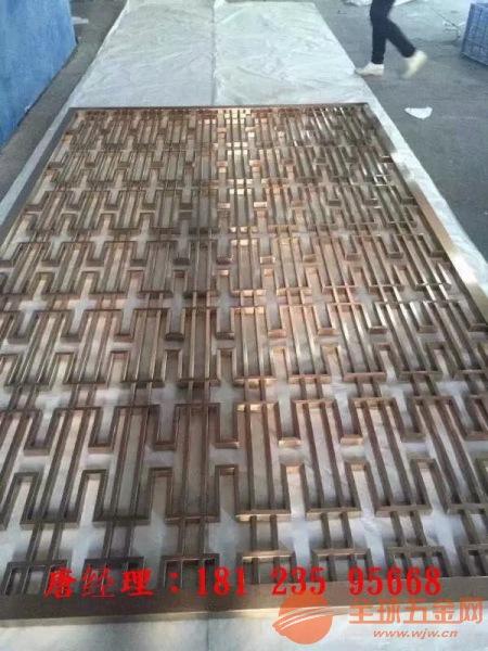 广州铝雕屏风厂家直营价格合理