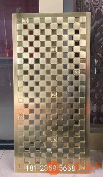 8mm纯铜精雕花格、铸铜雕刻花格厂家