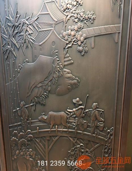 10个厚纯铜雕刻花格成本、铸铜雕刻花格厂家