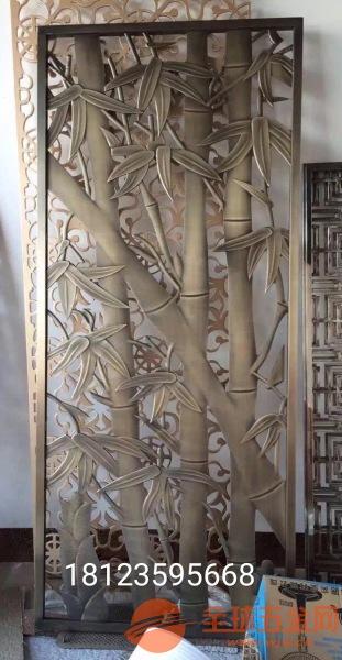 20mm铝合金雕刻屏风、8mm铸铝仿铜隔断