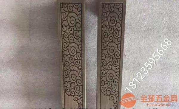 精雕铝合金仿铜腰线、雕刻仿古铜做旧腰线
