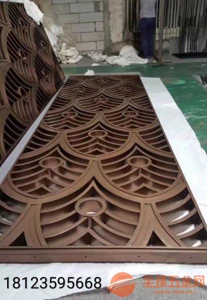 定制铝合金仿铜屏风优点、15mm铸铝仿铜隔断厂家