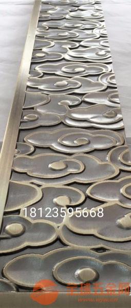 精雕刻金属组合天花、仿铜镂空组合花格