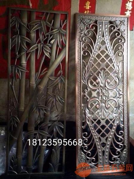 6mm纯铜精雕壁画批发价、铸铜雕刻花格厂家