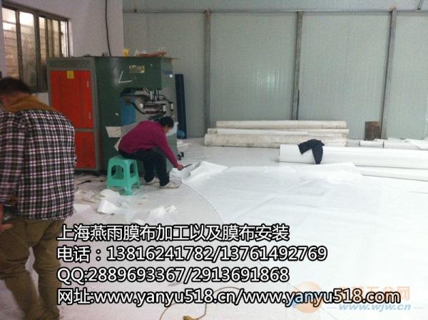 朱泾镇燕雨膜结构停车棚膜布加工