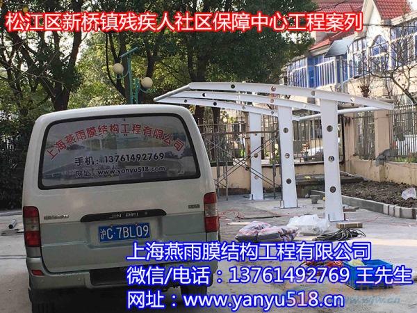 会昌钢膜结构自行车停车棚免费设计_上门测量